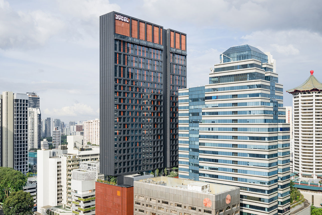 de3622a78b The defined form and striking façade design stands out against the  buildings on the vibrant Orchard Road shopping district. The cadence of the  alternating ...