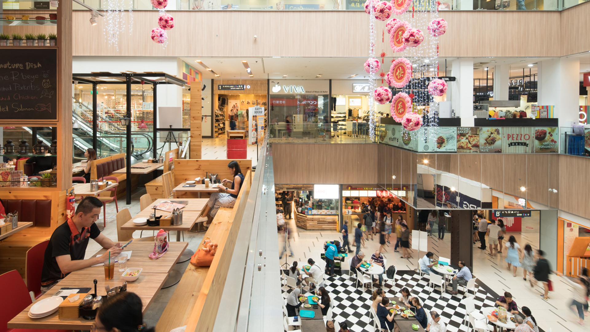 Today\'s Malls, Tomorrow\'s Social Spaces   DP Architects